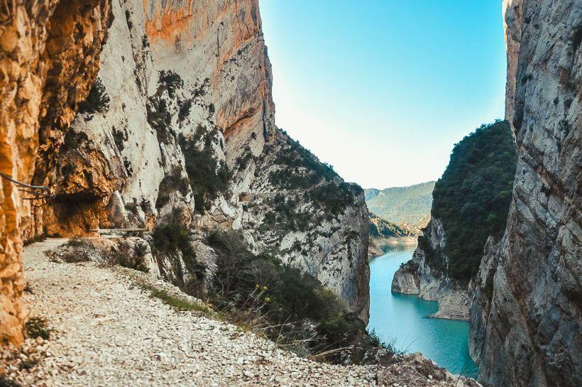 camino congost de mont rebei