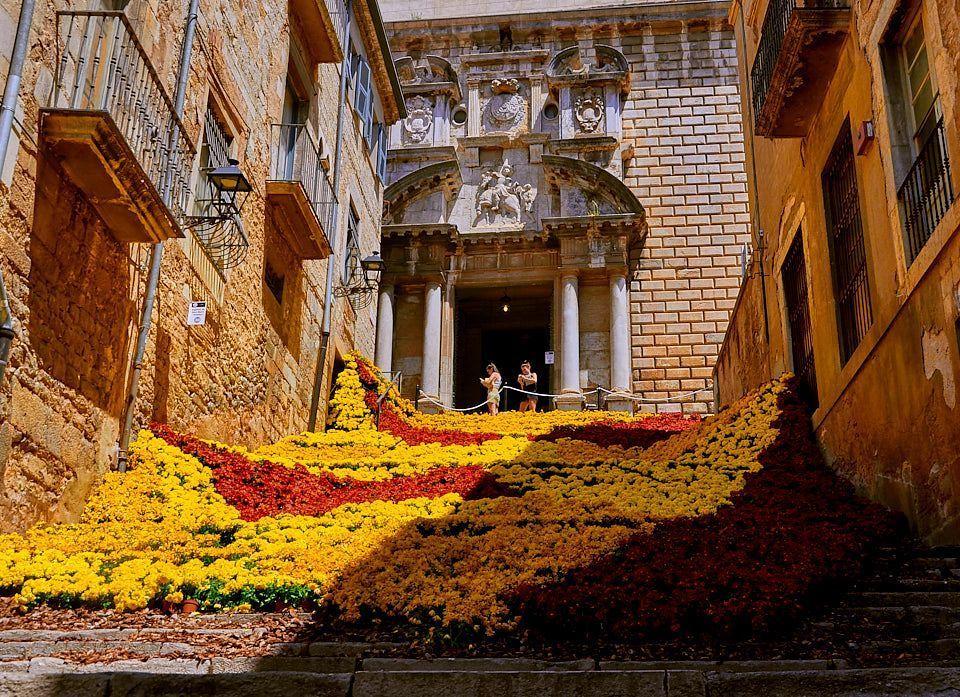 escaleras girona temps de flors