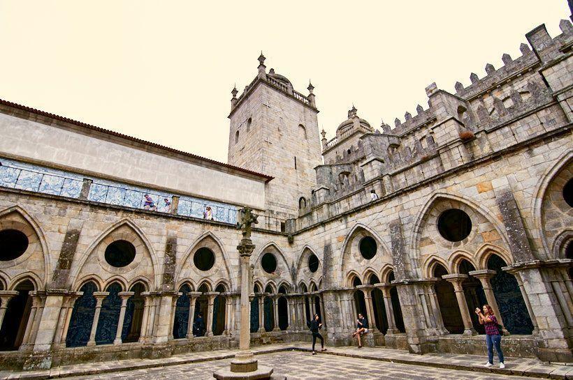 interior catedral se oporto