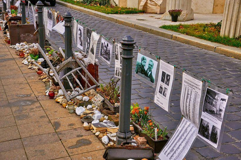 monumento victimas nazis budapest