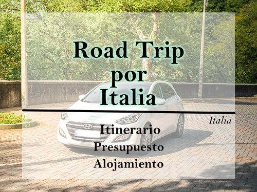 road trip por italia