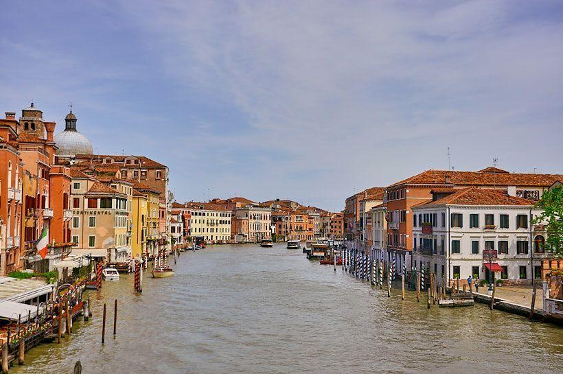 canal principal venecia