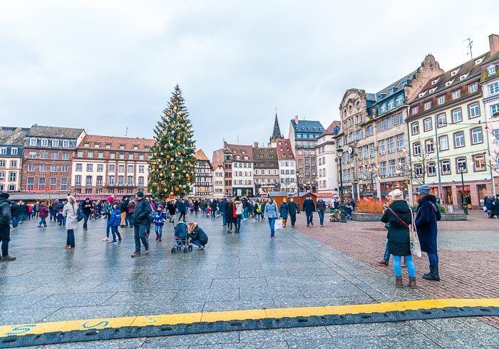 Plaza principal Estrasburgo