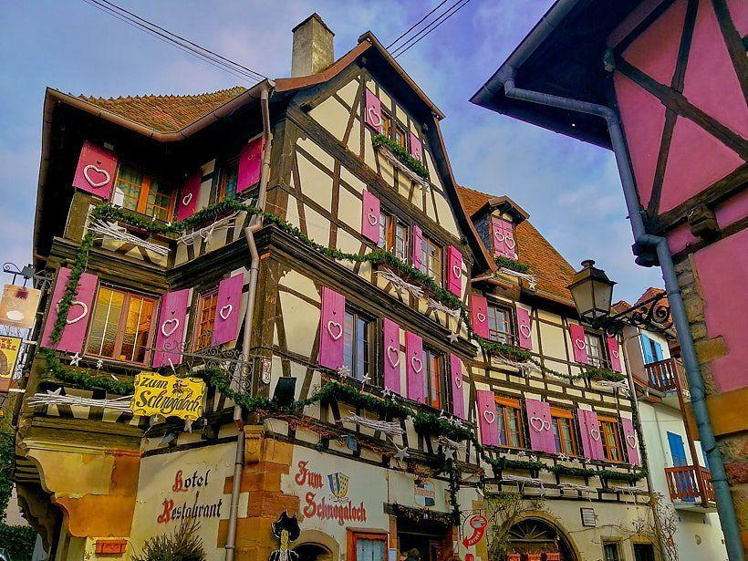 casa rosa obernai