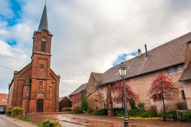 iglesia Mittelbergheim