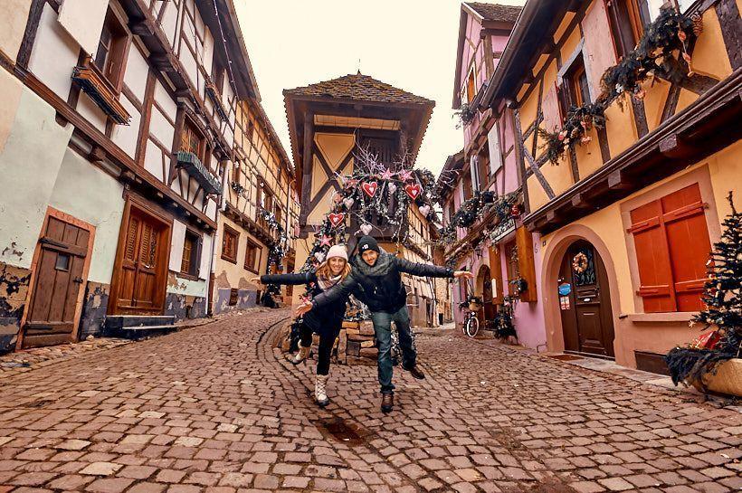 punto famoso Eguisheim