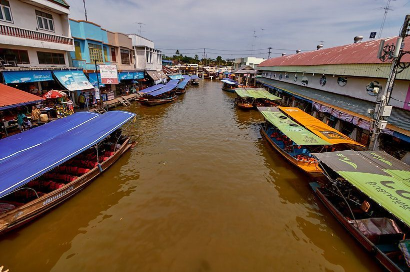 Amphawa mercado flotante