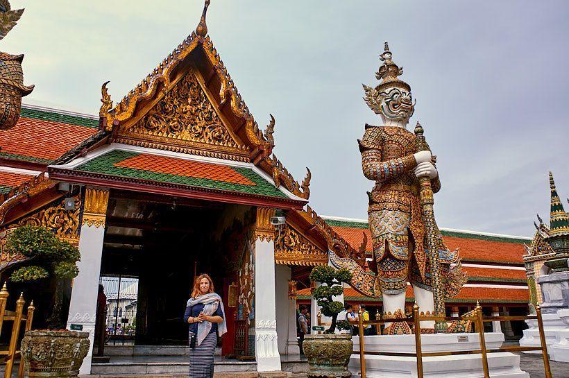 gran templo bangkok tailandia