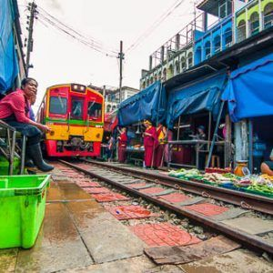 Primer día en Tailandia: domingo día de mercados