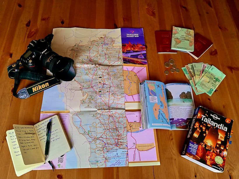 preparativos viaje tailandia