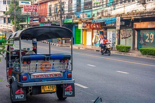 Llegada a Bangkok y primeras horas en Tailandia