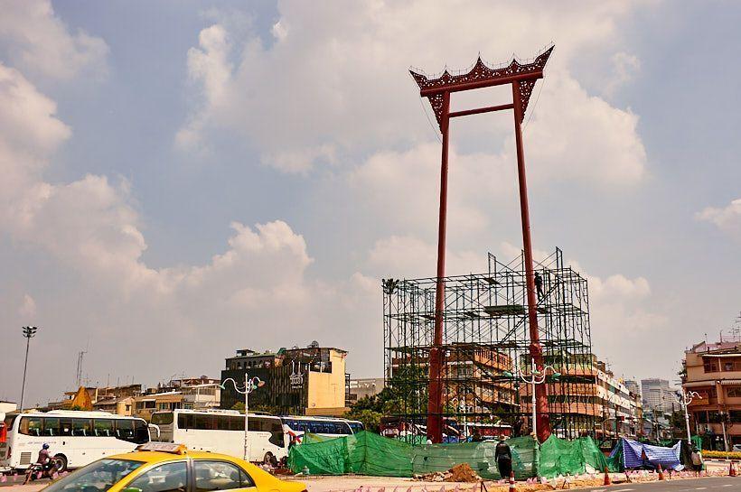 El columpio gigante bangkok