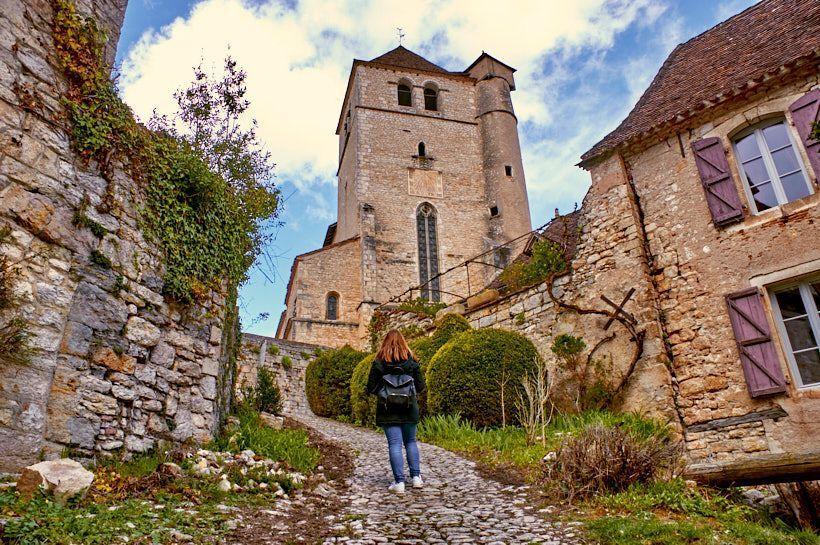 Saint-Cirq Lapopie pueblo