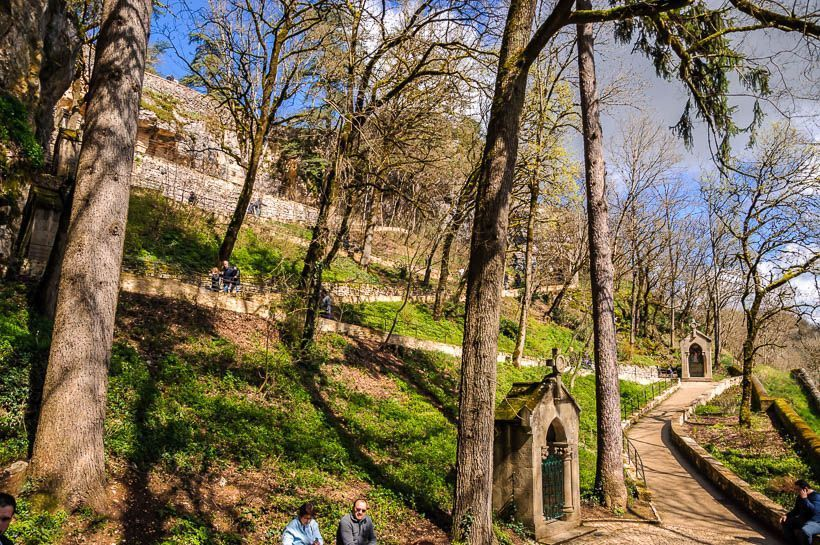 camino cruz rocamadour