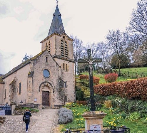 iglesia belcastel