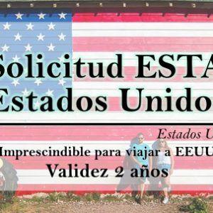 Solicitud ESTA Estados Unidos