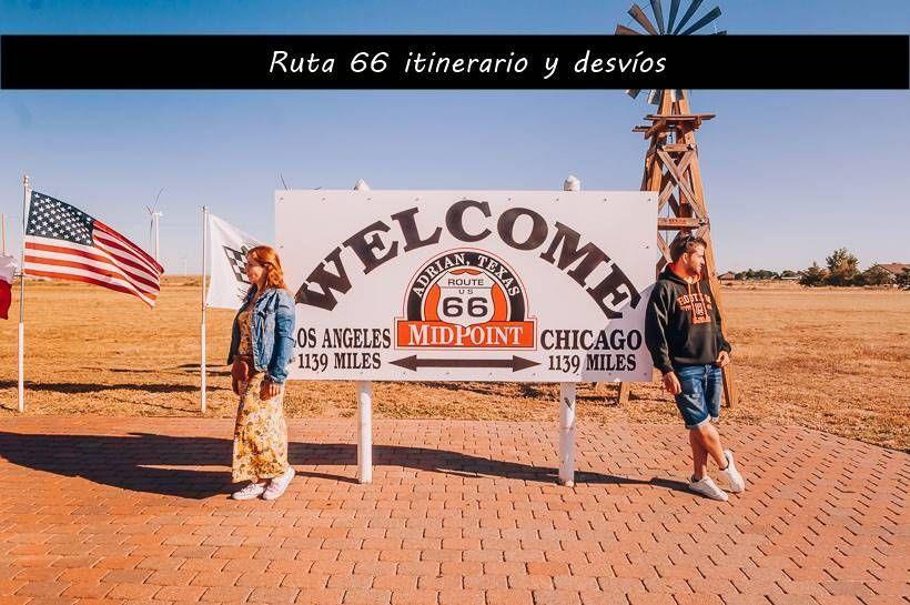 Viaje Ruta 66: nuestro itinerario y desvíos