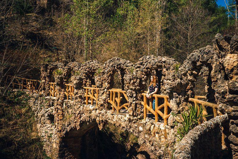 Jardins Artigas puente entrada