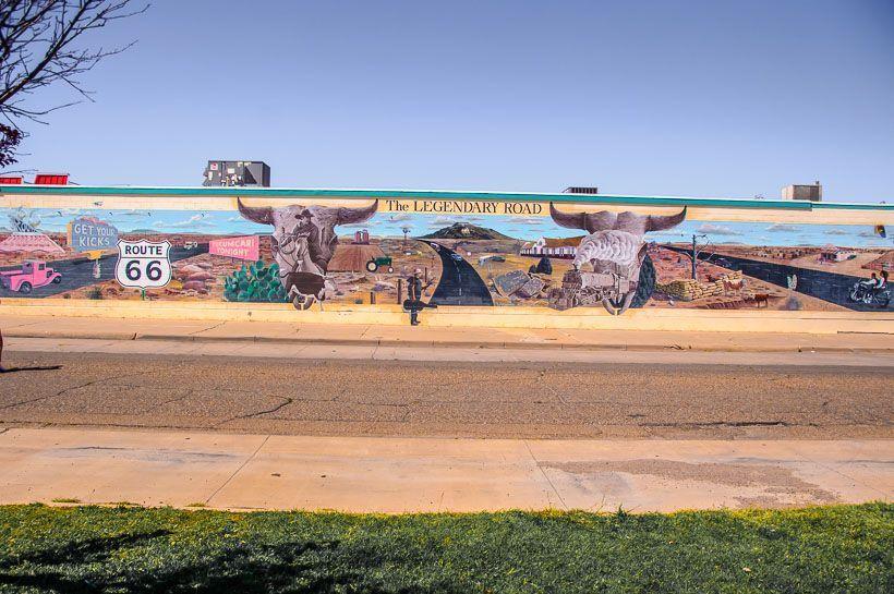 Mural lowe's super market