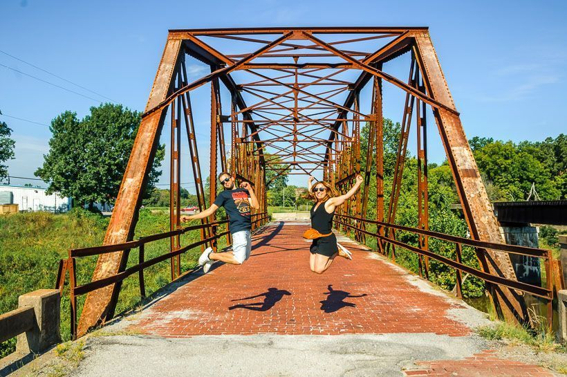 antiguo puente ruta 66