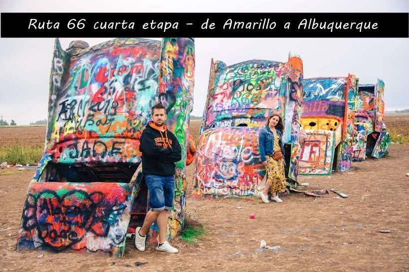 Ruta 66 cuarta etapa – de Amarillo a Albuquerque