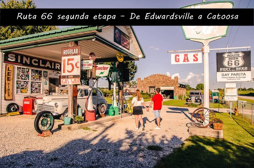 Ruta 66 segunda etapa – De Edwardsville a Catoosa