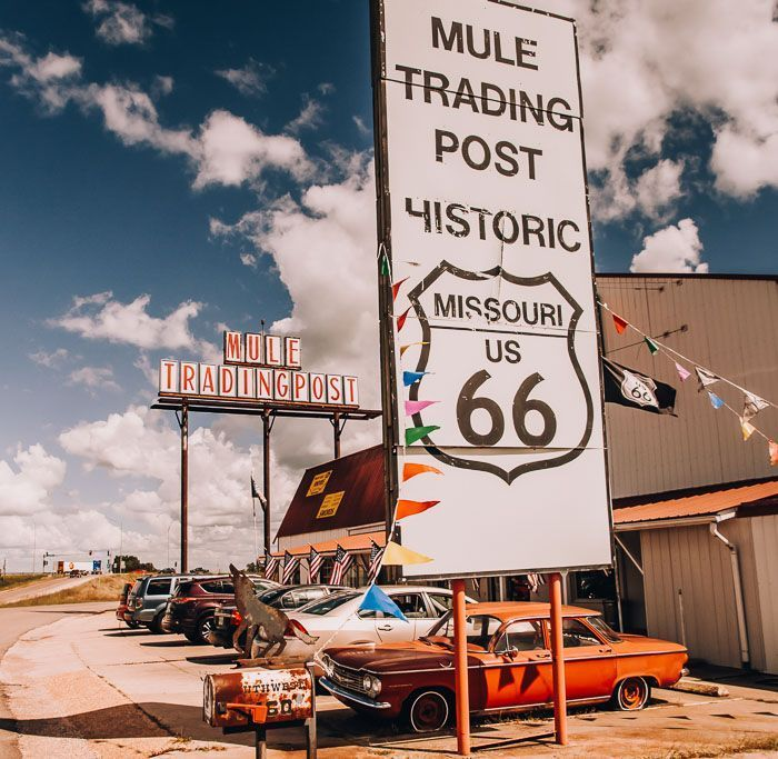 The mule trading post