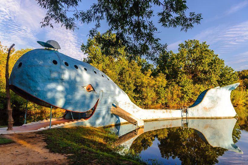 ballena azul ruta 66