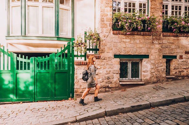 calles montmatre paris