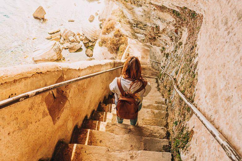 escaleras rey aragon
