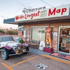 Ruta 66 novena etapa – de Kingman a Las Vegas