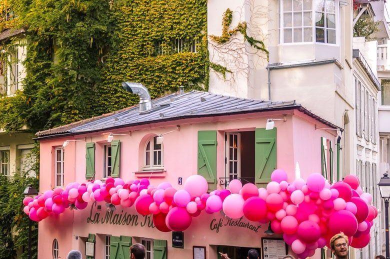 restaurante rosa montmatre paris