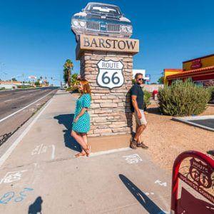 Ruta 66 undécima etapa – de Barstow a Los Ángeles