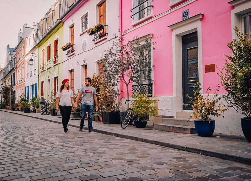 Calle Crémieux paris