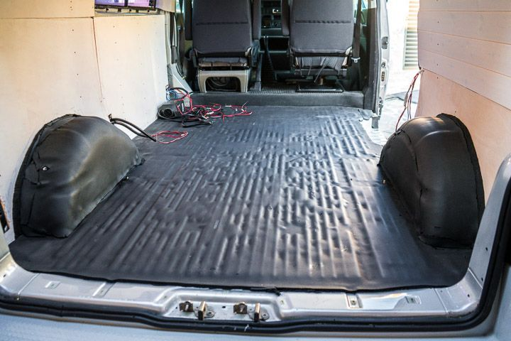 aislar suelo furgoneta kaiflex