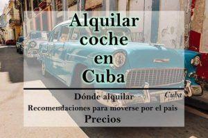 Alquilar coche en Cuba desde España