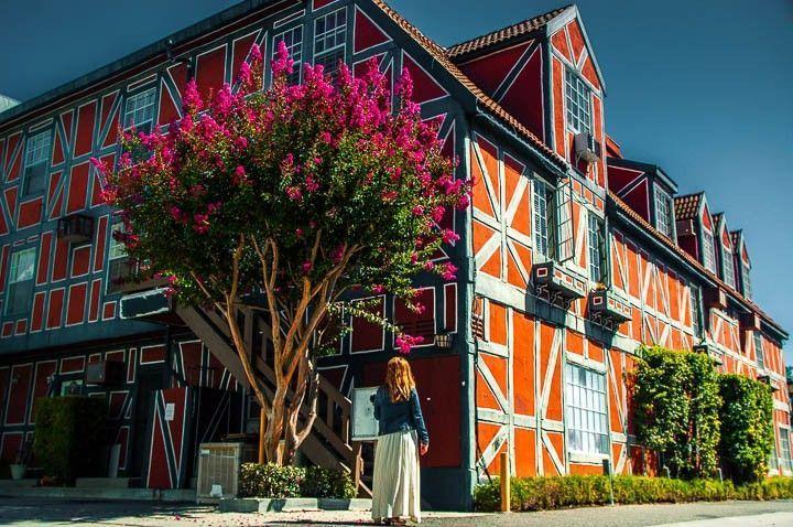 casa colores solvang estados unidos