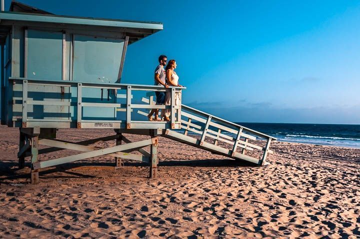 caseta vigilante playa malibu