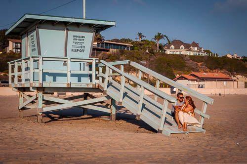 caseta vigilantes playa malibu