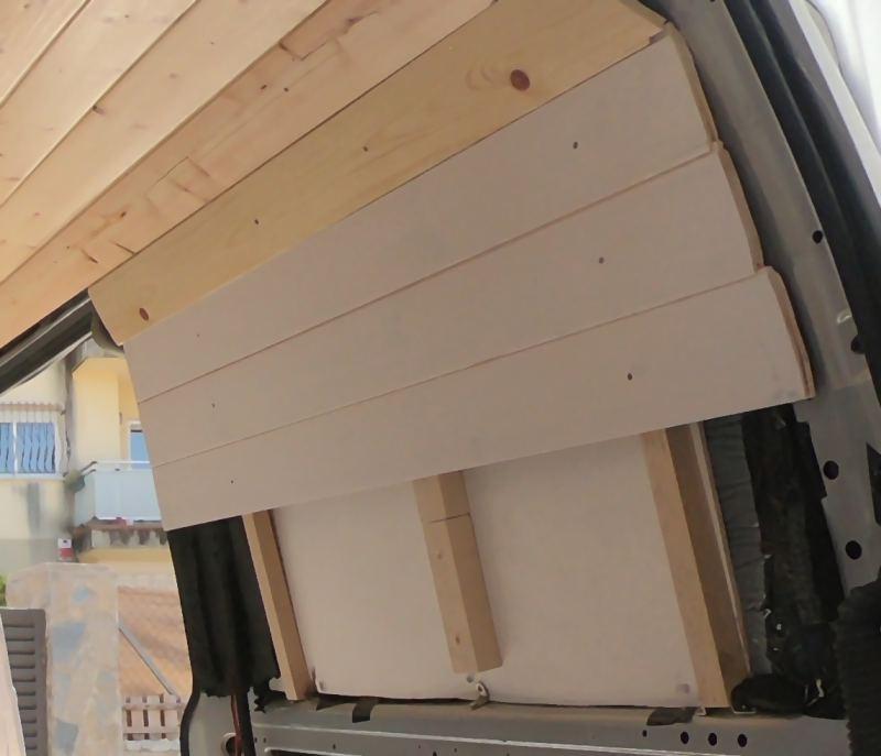 colocar friso en ventana furgoneta camper