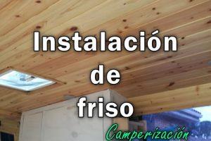 Panelar techo y puertas de furgoneta con friso