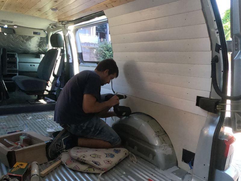 instalar friso furgoneta