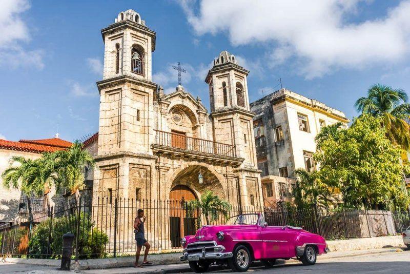Coche clásico Cuba