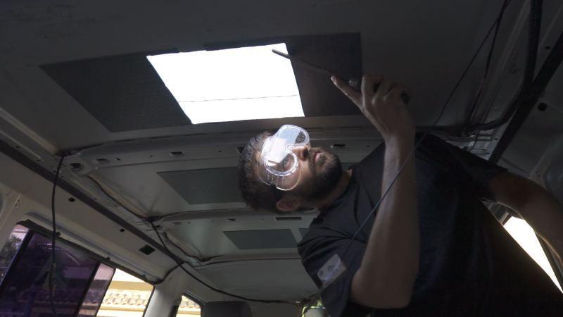 lijar techo furgoneta
