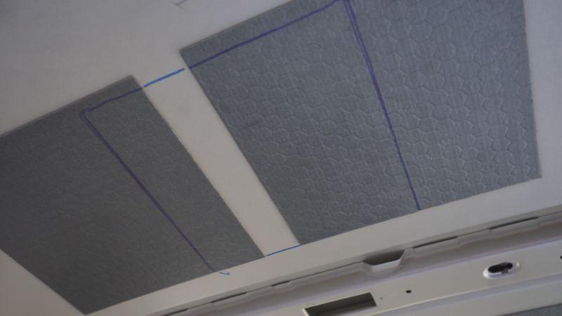 marcar corte claraboya