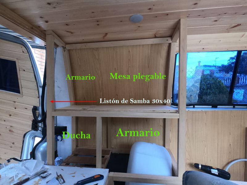 mueble furgoneta camper