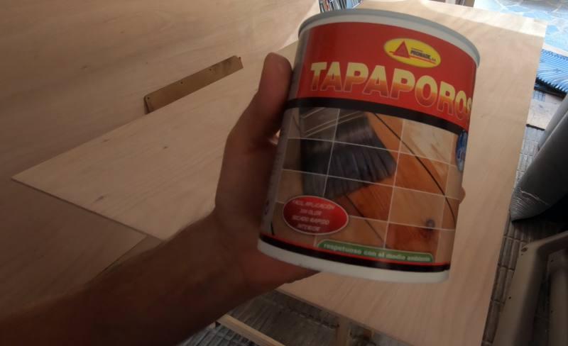 tapaporos para madera