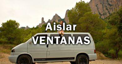 AISLAR VENTANAS FURGO