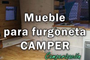 Cómo hacer muebles para furgoneta CAMPER