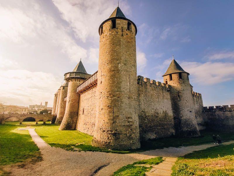 castillo carcassonne
